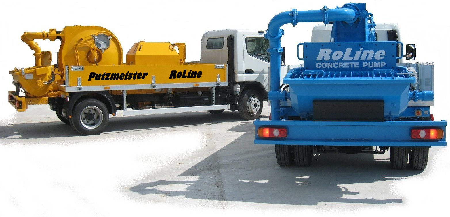 concrete pump delivery vehicle
